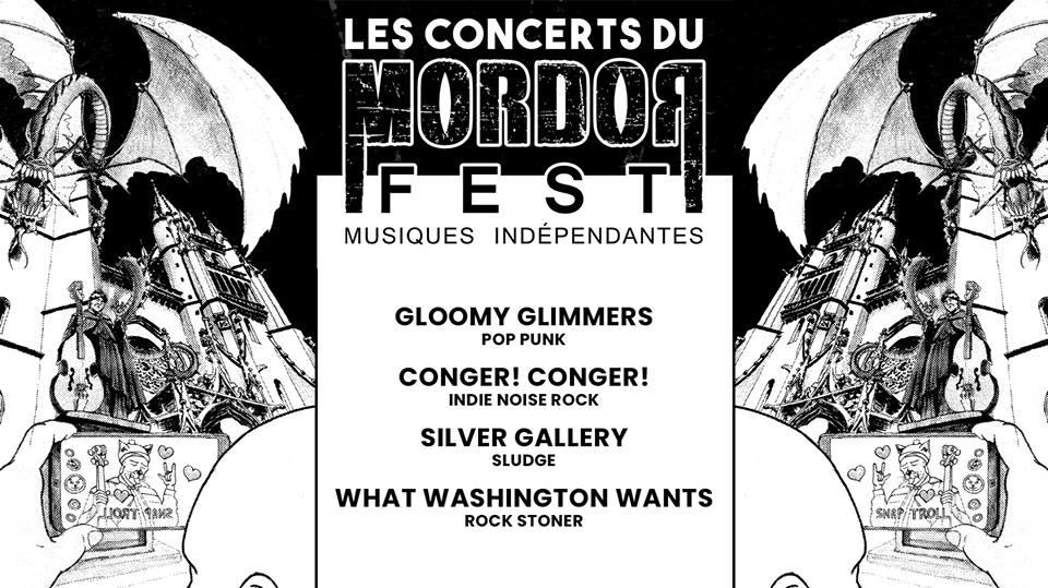 Concert avant festival Mordorfest en Lozère